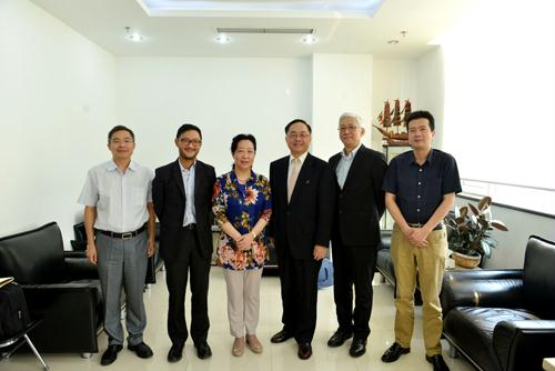 ASTRI's CEO visits and meets with Chinese Government Official to strengthen Hong Kong-Beijing technology innovation collaboration