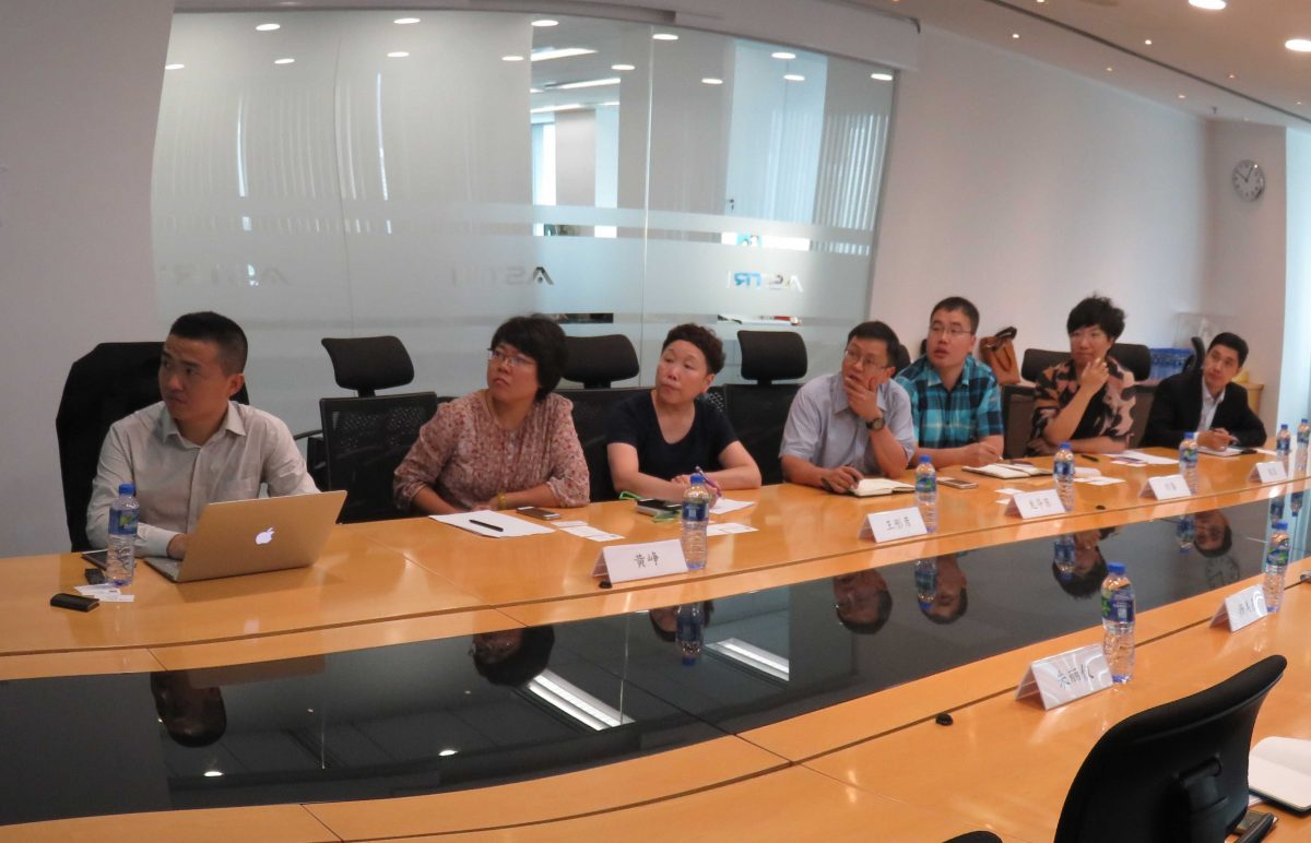 Delegates from Beijing Municipal Science & Technology Commission visit ASTRI