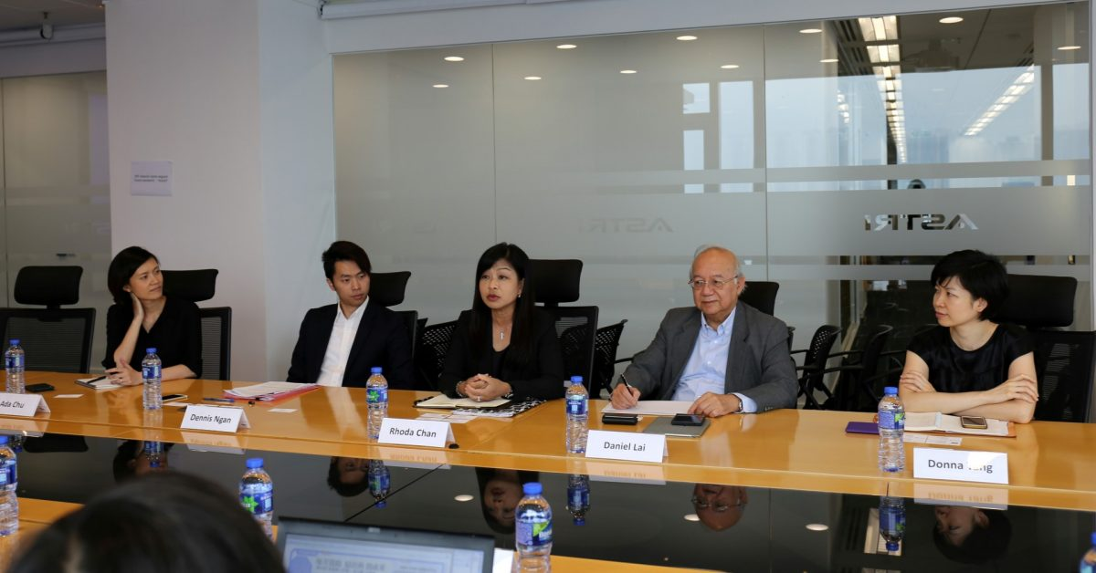 Delegates from The Hong Kong Jockey Club visit ASTRI