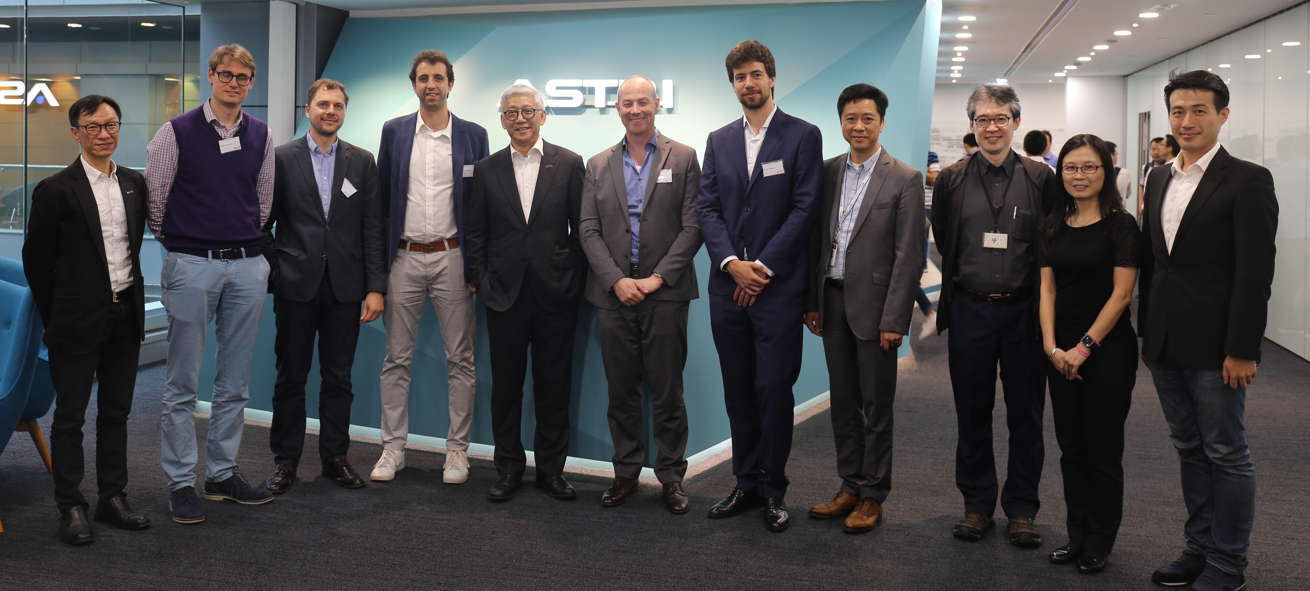 Technopark Zurich基金会代表团到访应科院